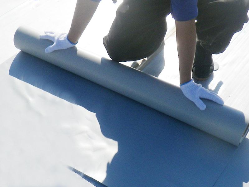塩ビシート防水の対象部位